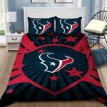 Houston Texans Logo 3d Printed Bedding Set (Duvet Cover & Pillow Cases)