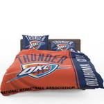 Oklahoma City Thunder Nba Basketball Bedding Set (Duvet Cover & Pillow Cases)