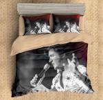 3d Printed Elvis Presley Performing Bedding Set (Duvet Cover & Pillow Cases)