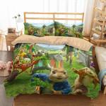 3d Peter Rabbit Duvet Cover Bedding Set