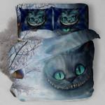 Alice In Wonderland The Cheshire Cat Bedding Set  (Duvet Cover & Pillow Cases)