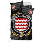 Tottenham Family Crest Shamrock Bedding Set (Duvet Cover & Pillow Cases)