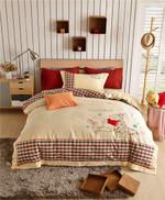 Disney-Winnie-The-Pooh-Plaid-Bedding-Set  (Duvet Cover & Pillow Cases)