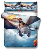 How-To-Train-Your-Dragon-Bedding-Set-V2 (Duvet Cover & Pillow Cases)