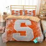 Ncaa Syracuse Orange Logo 3d Printed Bedding Set (Duvet Cover & Pillow Cases)