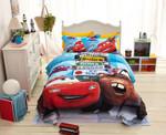 Disney Cars And Trucks Duvet Cover Bedding Set