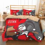 3d Harley Quinn Duvet Cover Bedding Set 3