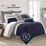 Southern Tide Starboard  Minimal Colors And Logo Bedding Set (Duvet Cover & Pillow Cases)
