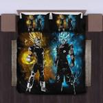 Goku And Vegeta Of Dragon Ball Bedding Set (Duvet Cover & Pillow Cases)