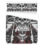 Asking Alexandria Rock Band 3d Printed Bedding Set (Duvet Cover & Pillow Cases)