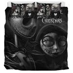 Nightmare Before Christmas Jack And Sally ? Bedding Set  (Duvet Cover & Pillow Cases)