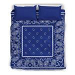 Royal Blue Bandana  Bedding Sets (Duvet Cover & Pillow Cases)
