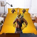 Fortnite Night Theme Digital Printmultiizeelection Yellows 3d Bedding Set (Duvet Cover & Pillow Cases)
