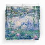 Water Lilies Painting By Claude Monet Fine Art Bedding Set (Duvet Cover & Pillow Cases)