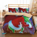3d The Grinch Duvet Cover Bedding Set