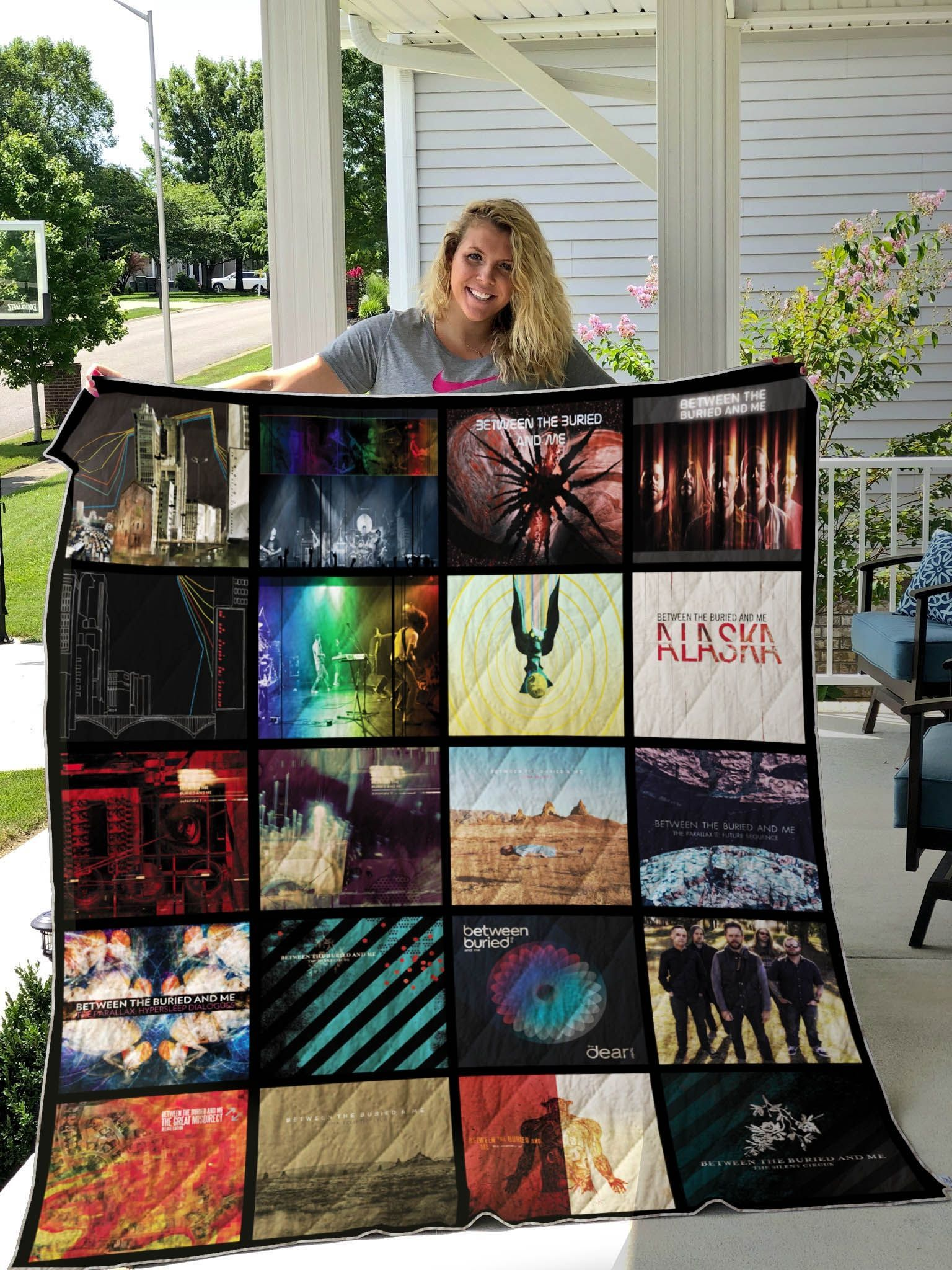 Between The Buried And Me Quilt Blanket
