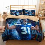 3d Kam Chancellor Seattle Seahawks Duvet Cover Bedding Set