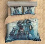 3d Pirates Of The Caribbean Duvet Cover Bedding Set