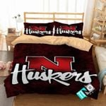 Ncaa Nebraska Cornhuskers 1 Logo D 3d Duvet Cover Bedding Sets