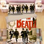 The Beatles 3d Photo Bedding Set For Fans (Duvet Cover & Pillow Cases)