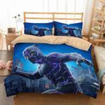 3d Black Panther Marvel American Superhero Bedding Set (Duvet Cover & Pillow Cases)