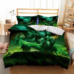World Of Warcraft Printed 3d Christmass Duvet Cover Bedding Set