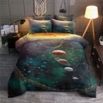 Solar System The Planets In The Solar System Bedding Sets (Duvet Cover & Pillow Cases)