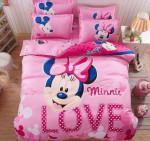 Minnie Mouse Love Bedding (Duvet Cover & Pillow Cases)