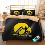 Ncaa Iowa Hawkeyes 2 Logo N 3 Duvet Cover Bedding Sets