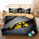 Ncaa Iowa Hawkeyes 1 Logo N 3d Duvet Cover Bedding Sets