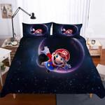 2018 Game Mario 3d Digital Printing For Kids Duvet Cover Bedding Set