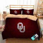 Ncaa Oklahoma Sooners 1 Logo N 3d Duvet Cover Bedding Sets