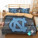 Ncaa North Carolina Tar Heels 2 Logo N 3d Duvet Cover Bedding Sets