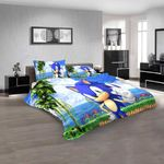 Cartoon Movies Sonic The Hedgehog N 3d Duvet Cover Bedding Sets
