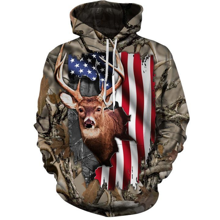 Deer Flag Legging And Hoodie