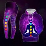 Yoga Chakra Hoodie And Leging