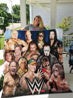 Wwe Legends Duvet Cover - Wwe Wrestling Quilt Blanket