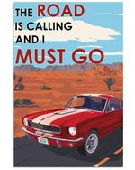 Ford The Road Is Calling Vertical Poster - Print Perfect, Ideas On Xmas, Birthday, Home Decor, No Frame Full Size