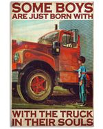 OUAT Boy Become Trucker Vertical Poster - Print Perfect, Ideas On Xmas, Birthday, Home Decor, No Frame Full Size