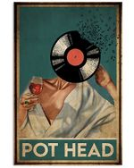 Pot Head Vertical Poster - Print Perfect, Ideas On Xmas, Birthday, Home Decor, No Frame Full Size