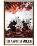 The Way Of The Samurai Poster Vintage Retro Art Picture Home Wall Decor Horizontal No Frame Full Size