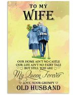 To My Wife Perfect Gift For Loving Wife Vertical Poster - Print Perfect, Ideas On Xmas, Birthday, Home Decor, No Frame Full Size