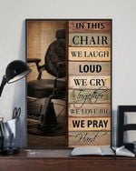 In This Chair We Laugh Loud We Cry Together Vertical Poster - Print Perfect, Ideas On Xmas, Birthday, Home Decor, No Frame Full Size