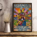 Colorful Picture Oh Give Me The Beat Boys And Free My Soul Vertical Poster - Print Perfect, Ideas On Xmas, Birthday, Home Decor, No Frame Full Size