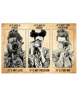 Photograph It's Not My Phase It's My Life Horizontal Poster Gift For Men, Women, On Birthday, Xmas, Home Decor Wall Art Print No Frame Full Size