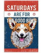 Corgi  GoodBoy Poster Home Wall Decor Gifts For Christmas, Birthday, Thanksgiving