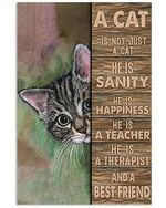 A Cat Is Not Just A Cat Poster Home Wall Decor Gifts For Christmas, Birthday, Thanksgiving