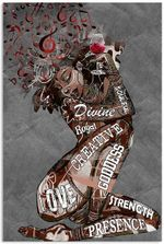 Afro Girl Music and Wine I Am Vertical Poster Print Perfect, Ideas On Xmas, Birthday, Home Decor,No Frame Full Size