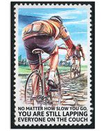 Cycling No Matter How Slow You Go Vertical Poster Perfect Gift For Men, Women, On Birthday, Xmas, Home Decor Wall Art Print No Frame Full Size