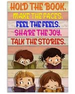 Student Hold The Book Make The Faces Vertical Poster Gift For Men, Women, On Birthday, Xmas, Home Decor Wall Art Print No Frame Full Size